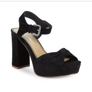NWT Splendid 'Bates' Suede Platform Sandal